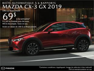 Agincourt Mazda - Procurez-vous le Mazda CX-3 2019 aujourd'hui!