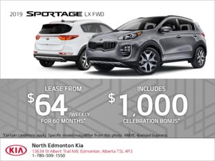 Get the 2019 Kia Sportage!
