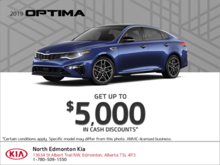 Get the 2019 Kia Optima!