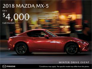 Regina Mazda - Get the 2018 Mazda MX-5 today!