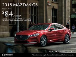 Regina Mazda - Get the 2018 Mazda6 today!