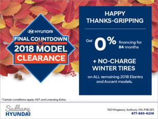 Hyundai Final Countdown - 2018 Model Clearance!