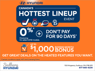 Canada's hottest lineup event!