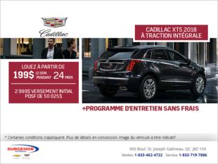 Cadillac XT5 2018 à traction intégrale