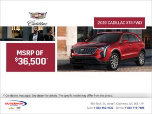 2019 Cadillac XT4 FWD