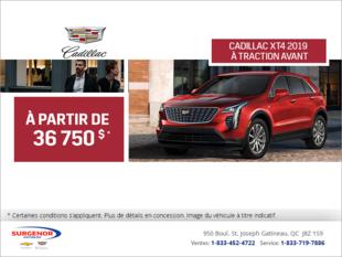 Cadillac XT4 2019 à traction avant
