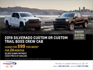Lease the 2019 Chevrolet Silverado