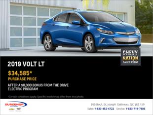 Lease the 2019 Chevrolet Volt