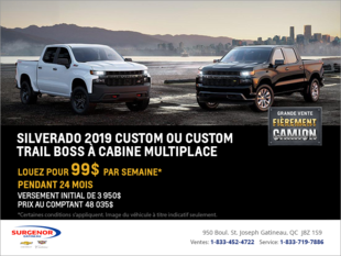 Louez le Chevrolet Silverado 2019