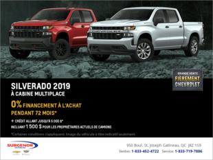 Financez le Chevrolet Silverado 2019