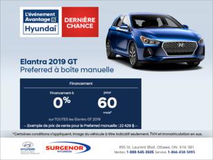 Procurez-vous la Hyundai Elentra GT 2019
