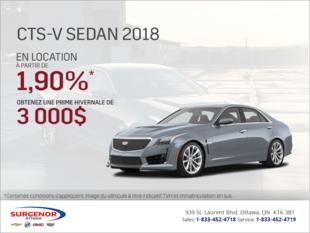 Cadillac CTS-V 2018