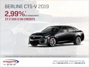 Cadillac CTS Berline 2019