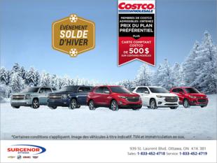 Cet hiver, l'aventure est au rendez-vous avec Chevrolet.
