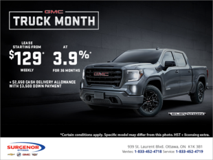 The GMC Truck Month Event!