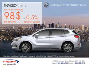 Louez le Buick Envision 2019