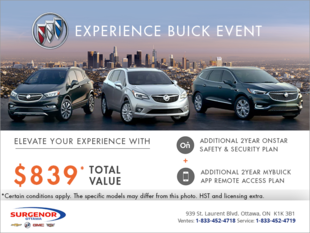 The Experience Buick Event