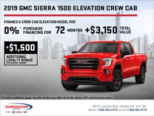 The 2019 Sierra 1500