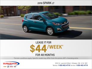Get the 2019 Chevrolet Spark