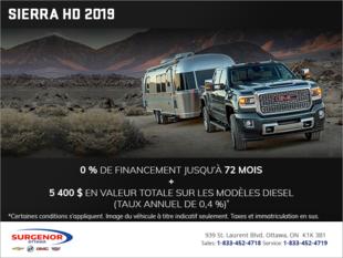Le GMC Sierra 2500 HD 2019