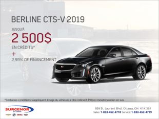 Cadillac CTS-V Berline 2019