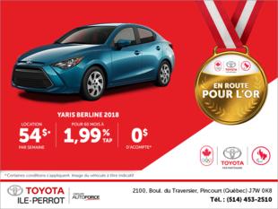 Toyota Yaris Berline 2018