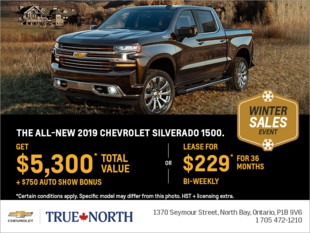 Get the All New 2019 Chevrolet Silverado