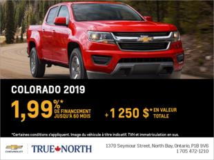 Financez le Chevrolet Colorado 2019