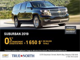 Financez la Chevrolet Suburban 2019