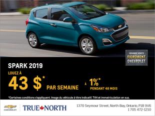 Louez la Chevrolet Spark 2019