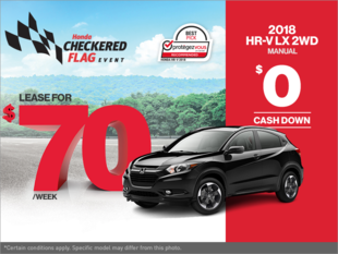 Get the 2018 Honda HR-V Today!