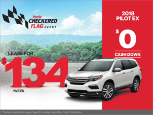 Get the 2018 Honda Pilot Today!