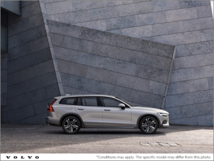 The new 2019 V60 Cross Country