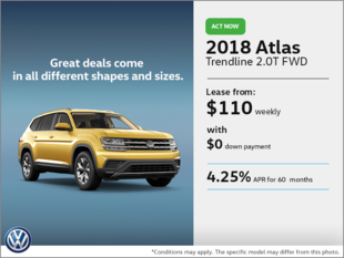 Lease the 2018 Atlas!