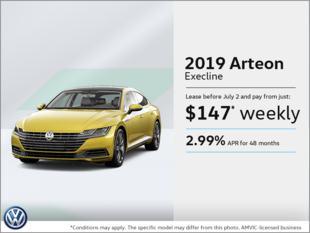 Get the 2019 Arteon!