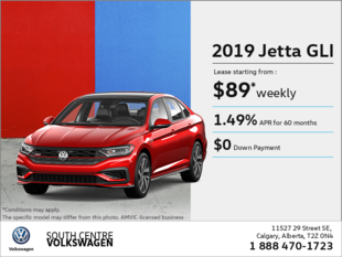 Get the 2019 Jetta GLI!