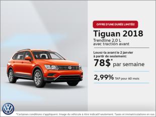 Louez le Tiguan 2018 dès aujourd'hui!
