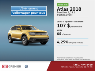Obtenez l'Atlas 2018 dès aujourd'hui!