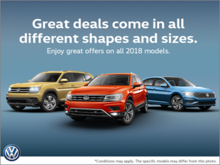 The Volkswagen Monthly Sales Event!