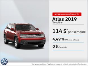 Louez l'Atlas 2019!