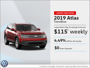 Lease the 2019 Atlas!