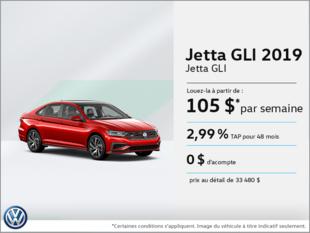 La toute nouvelle Jetta GLI 2019