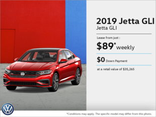Lease the 2019 Jetta GLI