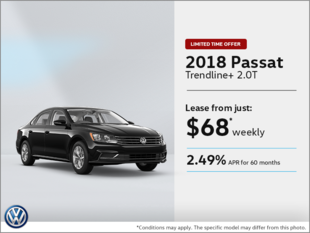 Lease the 2018 Passat!