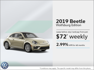 Lease the 2019 Beetle!