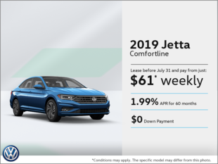 Lease the 2019 Jetta!