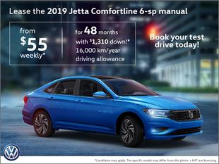 2019 Jetta Comfortline 6-sp manual