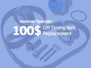 $100 Off Timing Belt