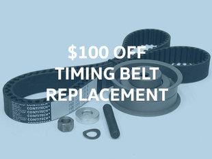 $100 Off Timing Belt