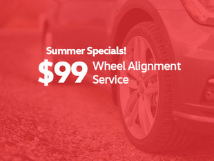 $99 Wheel Alignment